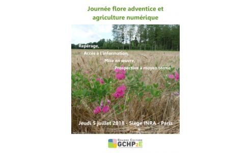 5/07/2018 -  REPORT - Journée flore adventice et agriculture numérique